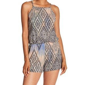 🆕 Tart Sunday Candy Romper, Aztec Diamond Overlay